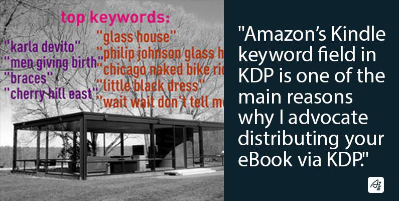 Kindle Keyword, distribute via KDP