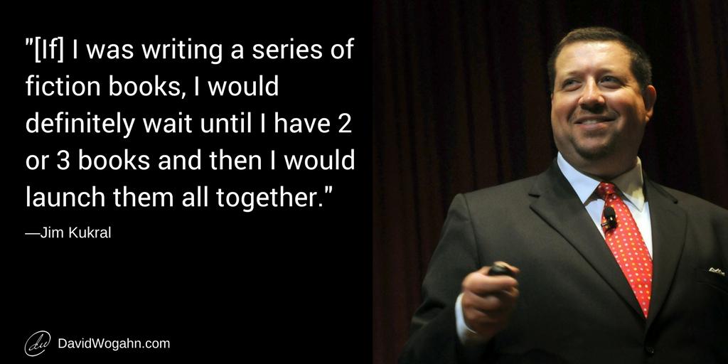 3 Questions for Jim Kukral: Audiobooks, Short Stories, Netflix Releases