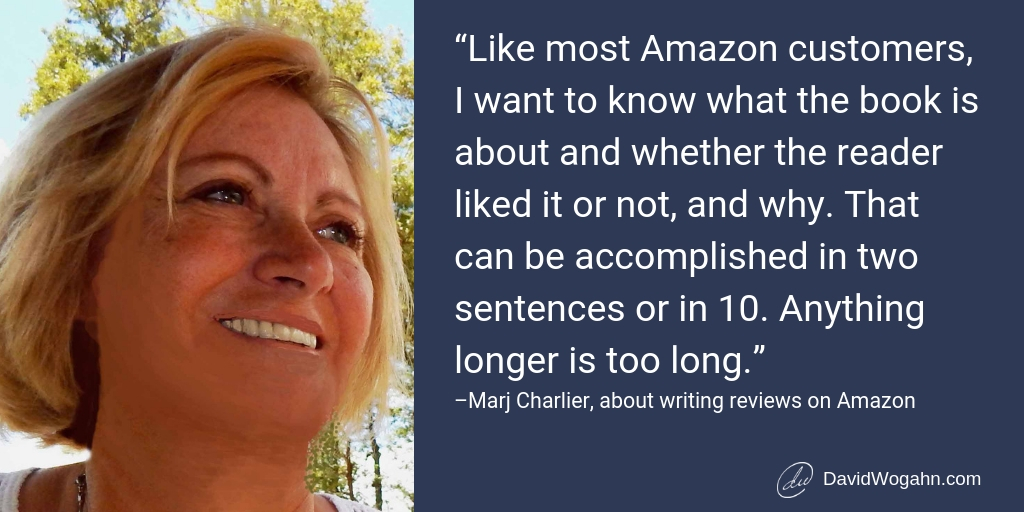 Review Writing Advice from Midwest Book Review's Marj Charlier
