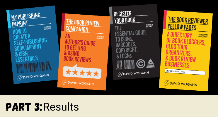 Publishing a Nonfiction Book Series, a Case Study: Results—Part 3 of 3